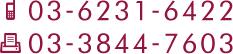 tel:03-6231-6322 fax:03-3844-7603